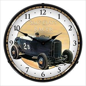 Salt Flats Racer Backlit Wall Clock