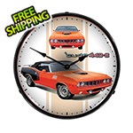 Collectable Sign and Clock Cuda 440-6 Backlit Wall Clock
