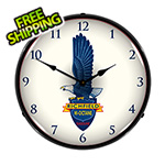Collectable Sign and Clock Richfield Gasoline Backlit Wall Clock