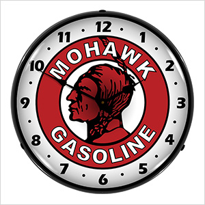Mohawk Gasoline Backlit Wall Clock