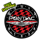 Collectable Sign and Clock Pontiac GTO Backlit Wall Clock
