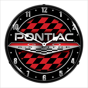 Pontiac GTO Backlit Wall Clock