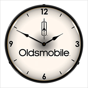 Oldsmobile Backlit Wall Clock