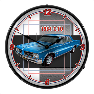 1964 GTO Backlit Wall Clock