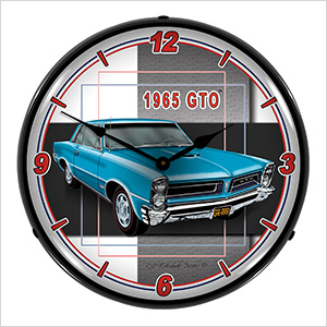 1965 GTO Backlit Wall Clock