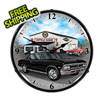 Collectable Sign and Clock 1966 Chevelle Backlit Wall Clock