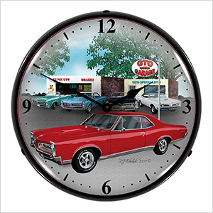 1967 GTO Backlit Wall Clock
