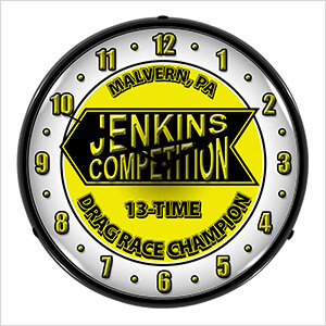 Jenkins Competition Backlit Wall Clock