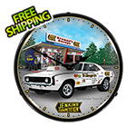 Collectable Sign and Clock Jenkins 1969 Camaro Backlit Wall Clock