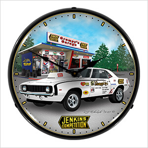 Jenkins 1969 Camaro Backlit Wall Clock