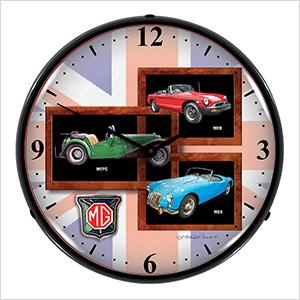 MG Backlit Wall Clock