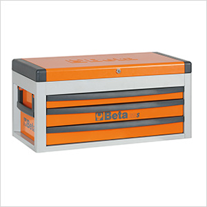 3-Drawer Portable Tool Chest (Orange)
