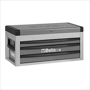 3-Drawer Portable Tool Chest (Grey)