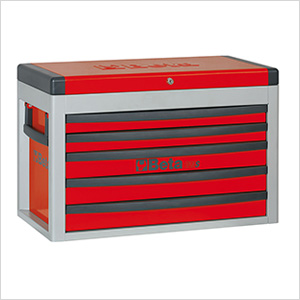 5-Drawer Portable Tool Chest (Red)