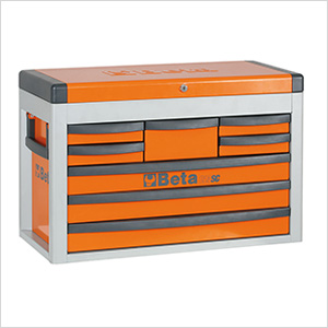 8-Drawer Portable Tool Chest (Orange)