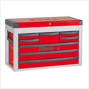 8-Drawer Portable Tool Chest (Red)