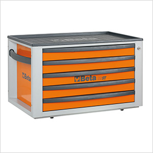 5-Drawer Portable Tool Chest (Orange)
