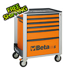Beta Tools 6-Drawer Rolling Tool Cabinet (Orange)