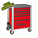 Beta Tools 6-Drawer Rolling Tool Cabinet (Red)