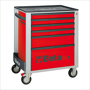 6-Drawer Rolling Tool Cabinet (Red)