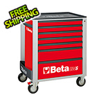 Beta Tools 7-Drawer Rolling Tool Cabinet (Red)