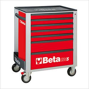 7-Drawer Rolling Tool Cabinet (Red)