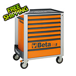 Beta Tools 8-Drawer Rolling Tool Cabinet (Orange)