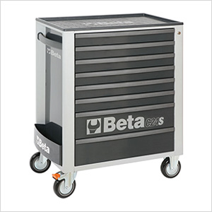 8-Drawer Rolling Tool Cabinet (Grey)