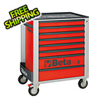 Beta Tools 8-Drawer Rolling Tool Cabinet (Red)