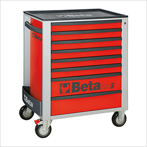 8-Drawer Rolling Tool Cabinet (Red)