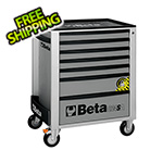 Beta Tools 7-Drawer Anti-Tilt Rolling Tool Cabinet (Grey)