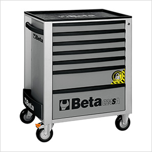 7-Drawer Anti-Tilt Rolling Tool Cabinet (Grey)