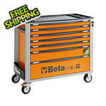 Beta Tools 7-Drawer Anti-Tilt Rolling Long Tool Cabinet