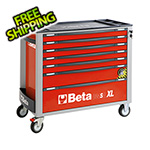 Beta Tools 7-Drawer Anti-Tilt Rolling Long Tool Cabinet