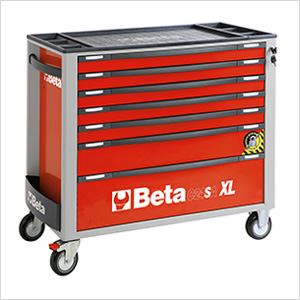 7-Drawer Anti-Tilt Rolling Long Tool Cabinet