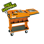 Beta Tools Tank Tool Trolley with Shelf
