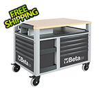 Beta Tools 10-Drawer SuperTank Rolling Tool Cabinet / Workstation