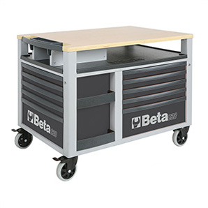 10-drawer Supertank Rolling Tool Cabinet / Workstation