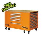Beta Tools 28-Drawer Mobile Workstation (Orange)
