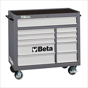 11-Drawer Roller Tool Cabinet (Grey)