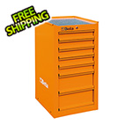 Beta Tools 7-Drawer Side Cabinet (Orange)