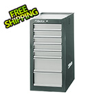 Beta Tools 7-Drawer Side Cabinet (Grey)