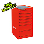Beta Tools 7-Drawer Side Cabinet (Red)