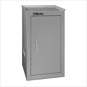 Side Cabinet with 1 Shelf (Grey)
