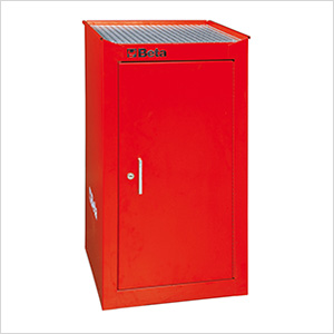 Side Cabinet with 1 Shelf (Red)