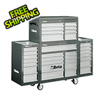 Beta Tools 33-Drawer Rolling Tool Cabinet (Grey)