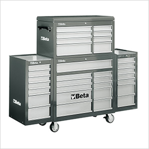 33-Drawer Rolling Tool Cabinet (Grey)