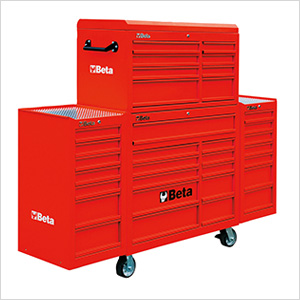 33-Drawer Rolling Tool Cabinet (Red)