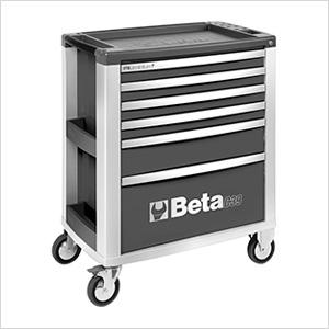 6-Drawer Aluminum Roller Tool Cabinet