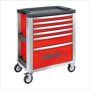 6-Drawer Aluminum Roller Tool Cabinet
